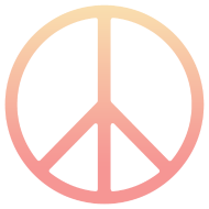 Design ~ DIP DYE PEACE SIGN