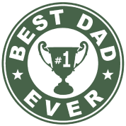 Best Dad Ever Trophy