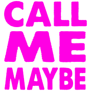 Call Me Maybe Pink
