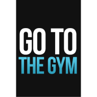 Design ~ Go to the gym fitness t shirt