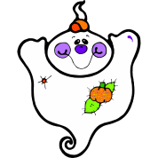 Cute Friendly Girl Ghost