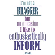 Design ~ I'm not a bragger...