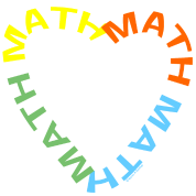 Math Text Heart
