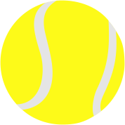 Tennis ball, 2 colors