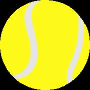 Tennis ball, 2 colors
