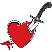 Heart knife
