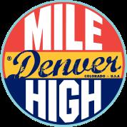 Denver Vintage Label