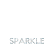Keep Calm and Sparkle On - Sparkle Pattern Filling