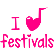 i musical love heart festivals music cute!