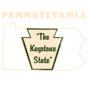 Pennsylvannia, the Keystone State Vintage