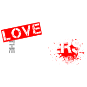 Love the Haters - Slogan T-Shirt Design