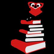 A bookworm reading