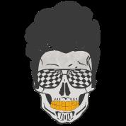 Glamour Zombie Skull