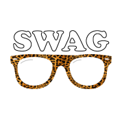 swag leopard glasses