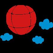 air_balloon & clouds