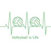 Volleyball is Life T-Shirt | Spreadshirt -  8.5KB