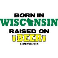 Design ~ Born in WI Raised on Beer