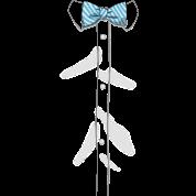 Fake Bow Tie Shirt