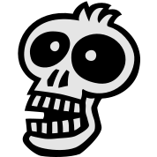 Toon SKULL 1 small vector