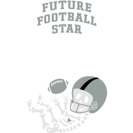 Design ~ Football Skeleton1 (w/words)