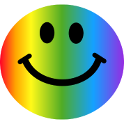 Rainbow Smiley Face