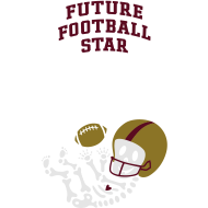 Design ~ Football Skeleton3 (w/words)