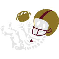Design ~ Football Skeleton3