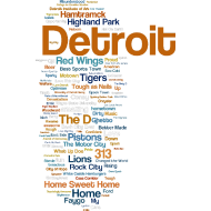 Design ~ Detroit Words