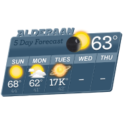 STAR WARS ALDERAAN 5 DAY WEATHER FORECAST