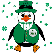 St. Patty's Day Penguin