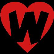 I love W - Heart W - Letter W