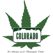 Colorado: It's always 4:20 Mountain Time!