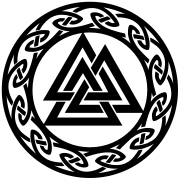 Valknut, Wotan's Knot, Walknot, Odin, Valhalla