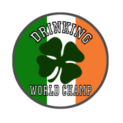 Irish St.Patrick's Day Drinking Champion