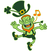 Leprechaun Dancing and Singing