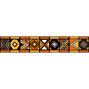 African stripe pattern