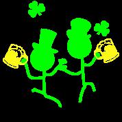 Cheers Irish drinker st.Patty's day