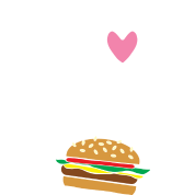 Burger skellington