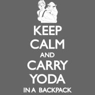 Design ~ Keep Calm and Carry Yoda