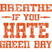 Chicago Green Bay Hate funny Humor Shirt Tee