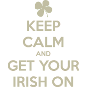 Keep Calm Funny Irish Humor Clothing Apparel