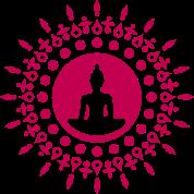 Buddha meditation, spiritual symbol enlightenment