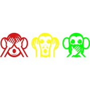 3 Wise Monkeys Emoji