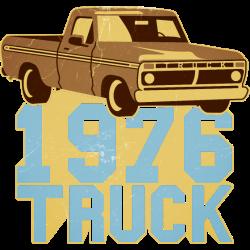 Pickup Truck 1976 Vintage-Look