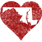 Maryland Heart Clothing Apparel Shirts