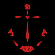 Anchor & Sacred Rose, Symbol Hope, Faith & Love