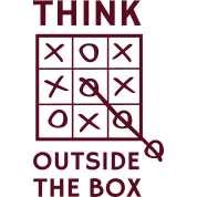 Think outside the box tic tac toe