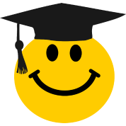 Graduate Smiley face