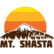 I climbed Mt. Shasta