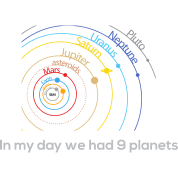 In my day we had 9 planets